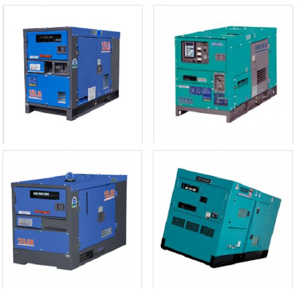 Denyo- dòng máy phát điện Nhật Bản được ưu chuộng trên toàn thế giới